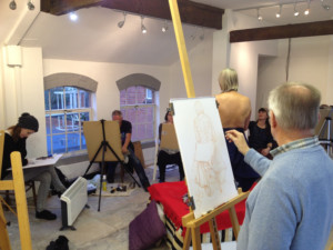 Life Drawing at ArtistsWorkhouse @ ArtistsWorkhouse