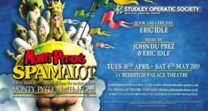 Studley Operatic Society. Spamalot @ palace theatre | England | United Kingdom