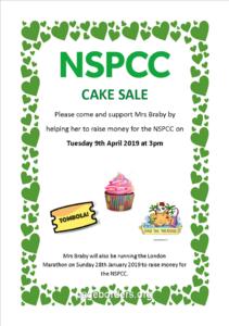 NSPCC cake sale @ studley st Mary's C of E Acadamy | England | United Kingdom