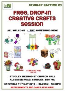 creative crafts @ methodist church hall    Studley   United Kingdom