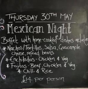 Mexican night @the lark @ little lark    England   United Kingdom