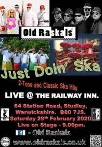 Old Raskals @ the railway inn @ railway inn | England | United Kingdom