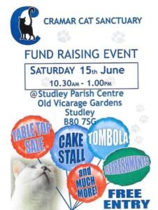 cat sanctuary fund raiser @ parish centre | England | United Kingdom