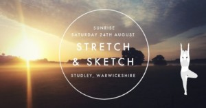 Stretch and Sketch Salute to the Sun @ studley TBC | Attleboro | Massachusetts | United States