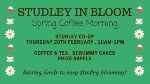 'Studley in bloom' coffee morning @ Co-Op @ co op | England | United Kingdom