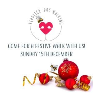 Bumbles festive dog walk @ C of E church | England | United Kingdom