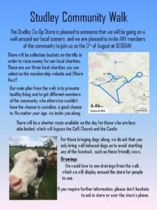 Studley Community Walk @ co op   England   United Kingdom