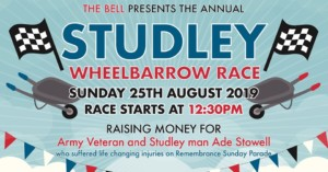 WHEELBARROW RACE 2019 @ the bell | England | United Kingdom
