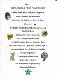 Blue Cross Table top sale. @ Parish centre @ parish centre | England | United Kingdom