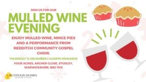 mulled wine evening@ four acres @ four acres residential home | England | United Kingdom