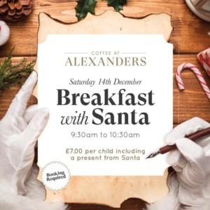 Breakfast with Santa @ Alexander's @ Alexander's Gin Bar | England | United Kingdom