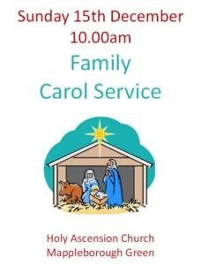 Family carol service @ Holy ascension church Mappleborough Green @ Holy Ascension Church | England | United Kingdom