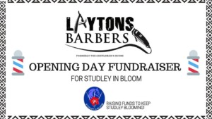 opening day fundraiser for Studley in Bloom@Layton's Barbers @ Layton's Barbers | England | United Kingdom